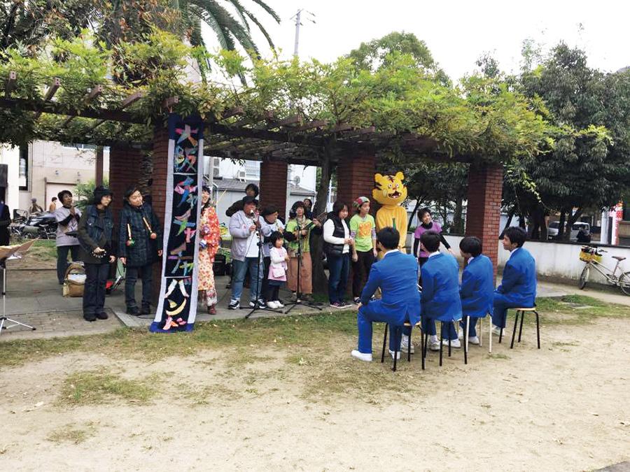 中道エリア:玉造ふれあえないフェスティバル