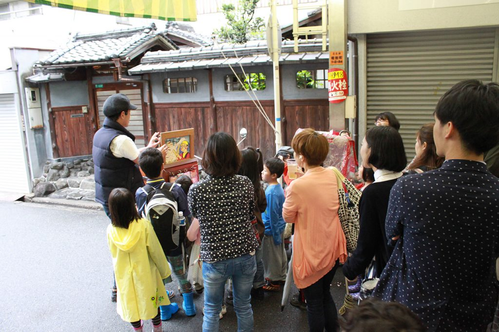 文の里エリア:どっぷり、昭和町。2014年