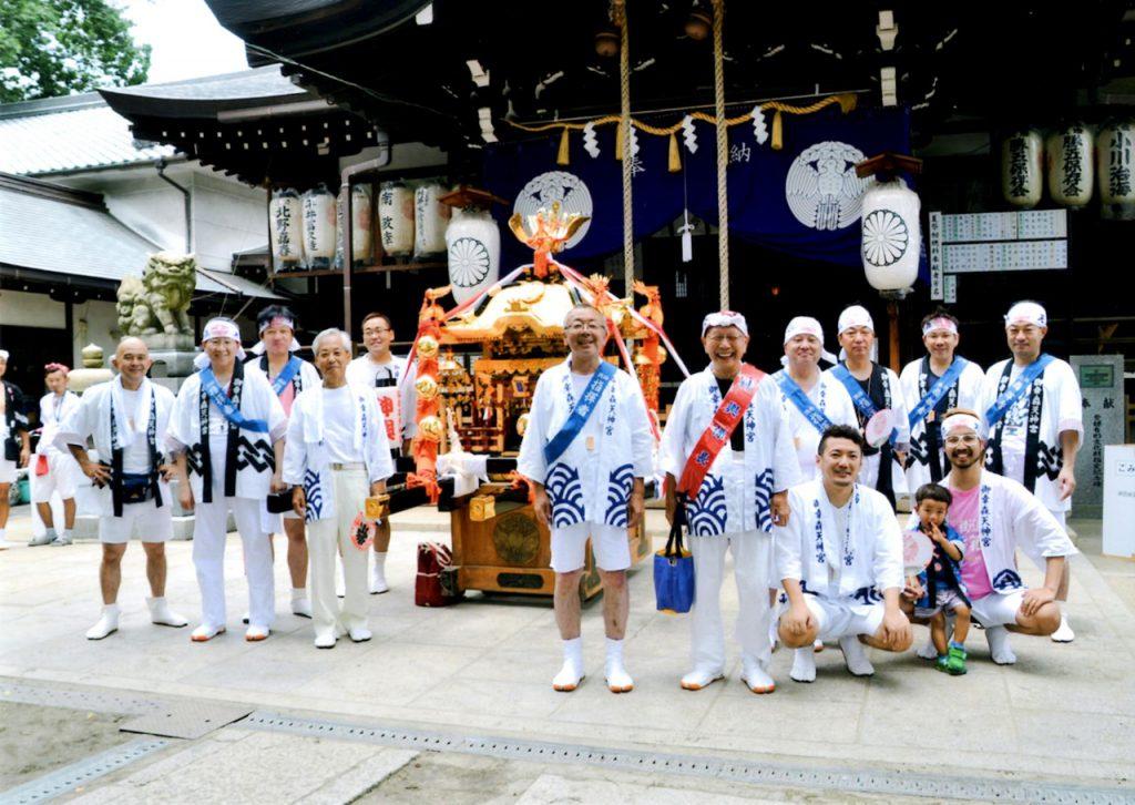 大成連合第五町会:御幸森天神宮夏祭