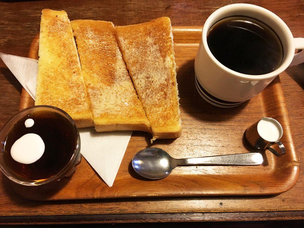 東成区スーパー第五町会:喫茶今来(いまき)