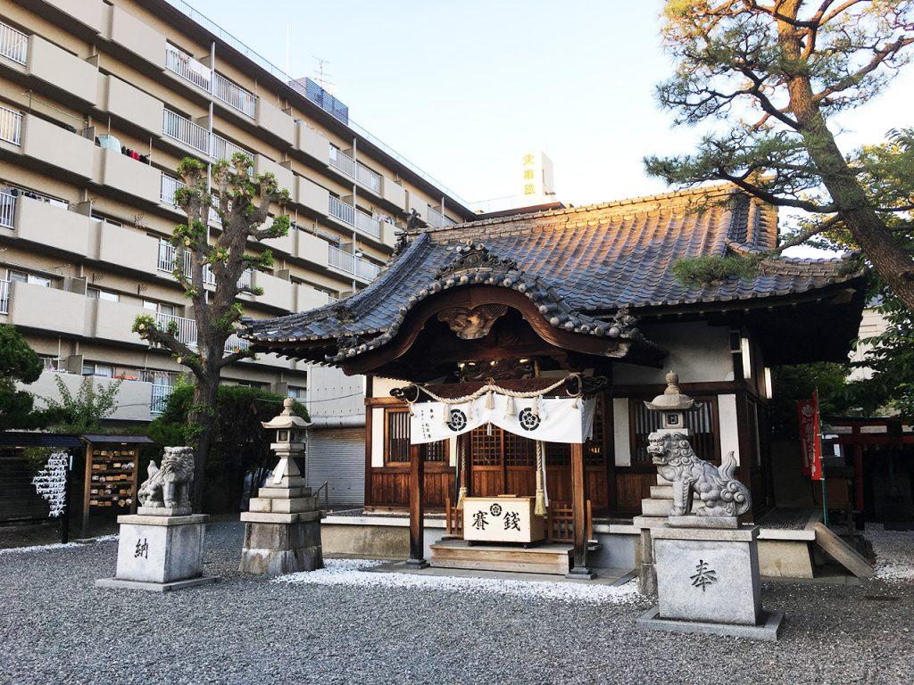淀川区塚本エリア:塚本神社