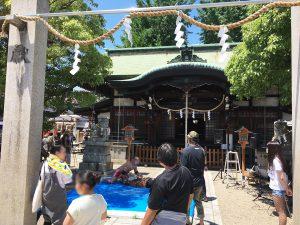 東成区北中道エリア:八阪神社