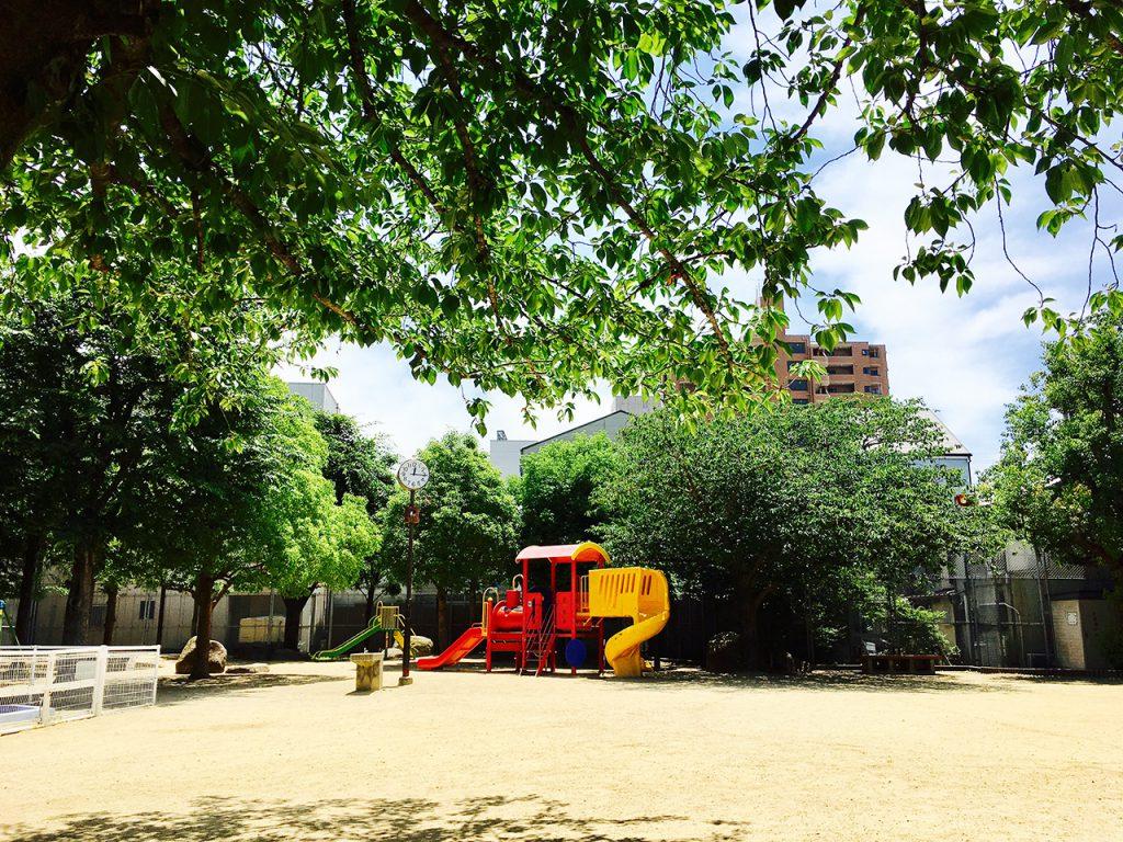 東成区スーパー第五町会:玉津南公園